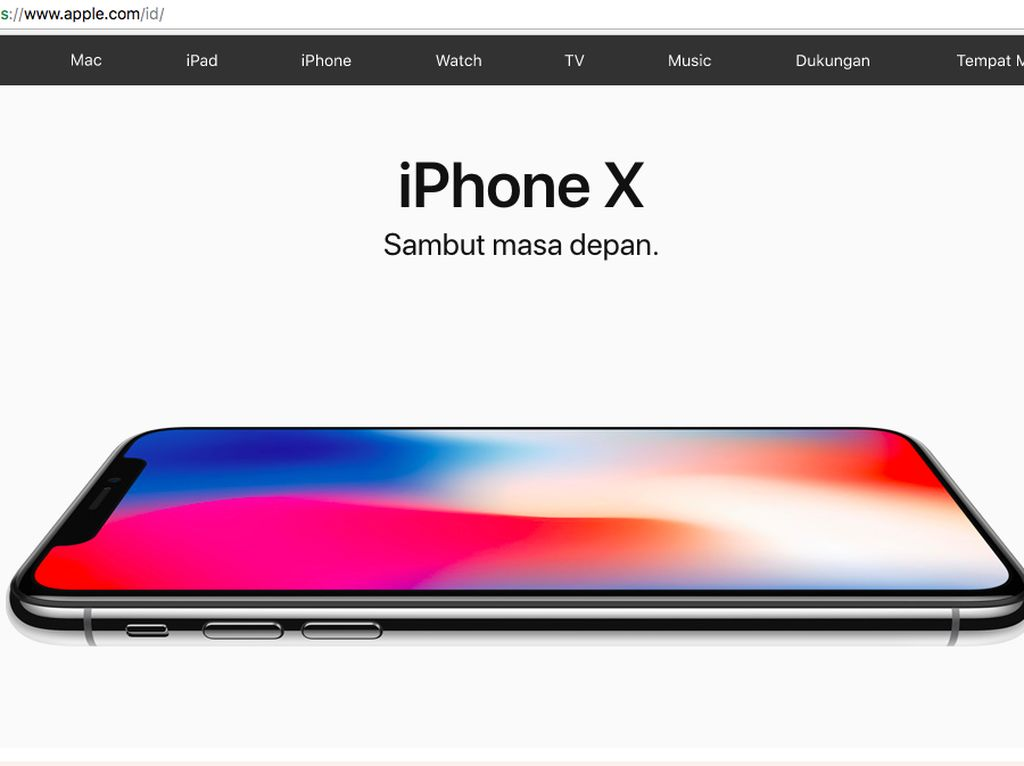 Apple Indonesia Mulai Buka-bukaan iPhone X