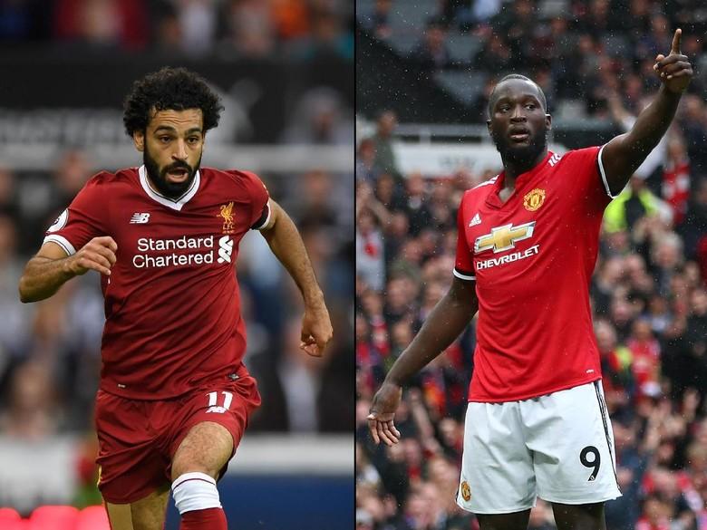 Adu Tajam Salah vs Lukaku