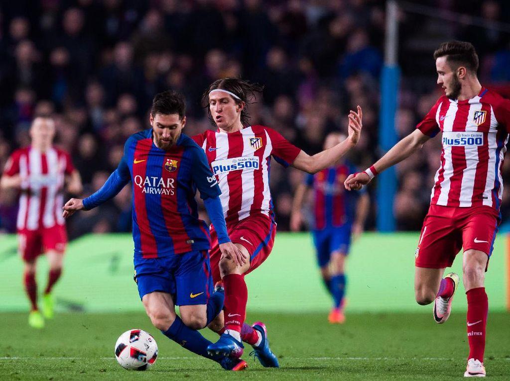 Teror Messi untuk Atletico