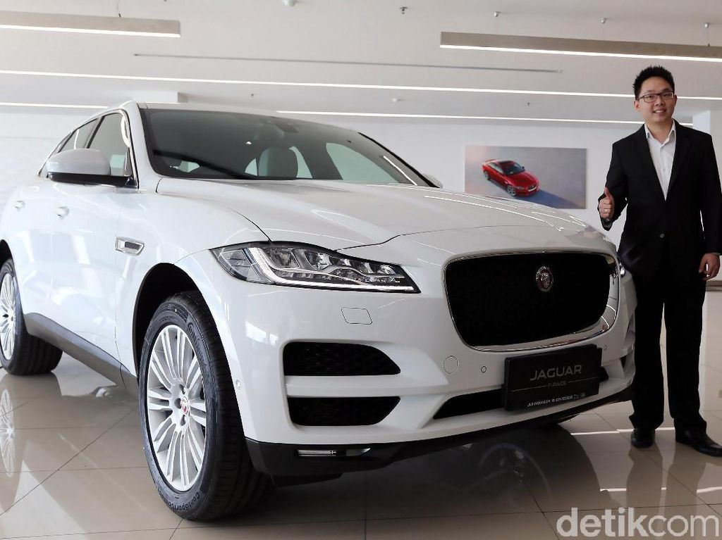 Kurang Laris, Jaguar F-Pace 3.0 Liter Tidak Didatangkan Lagi