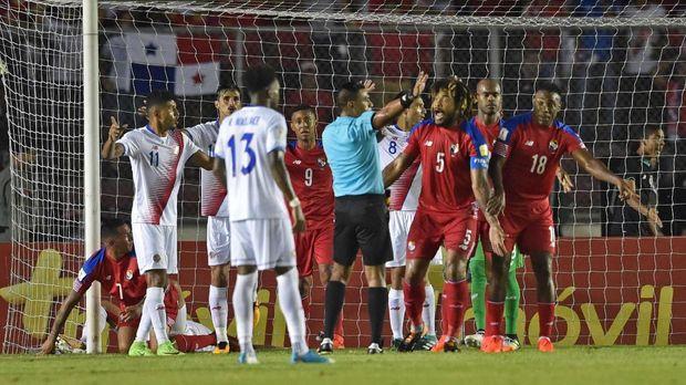 Insiden 'gol hantu' menjadi salah satu cerita yang mengiringi keberhasilan Panama menembus putaran final Piala Dunia 2018.