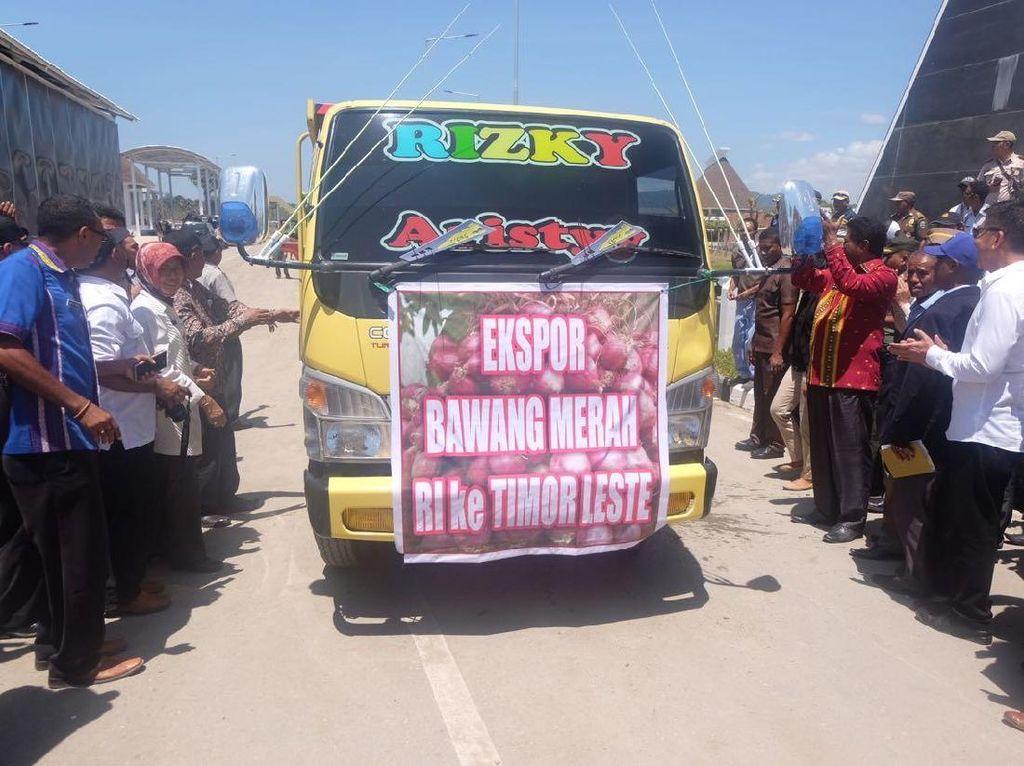 RI Ekspor Bawang ke 6 Negara, dari Timor Leste Hingga Thailand