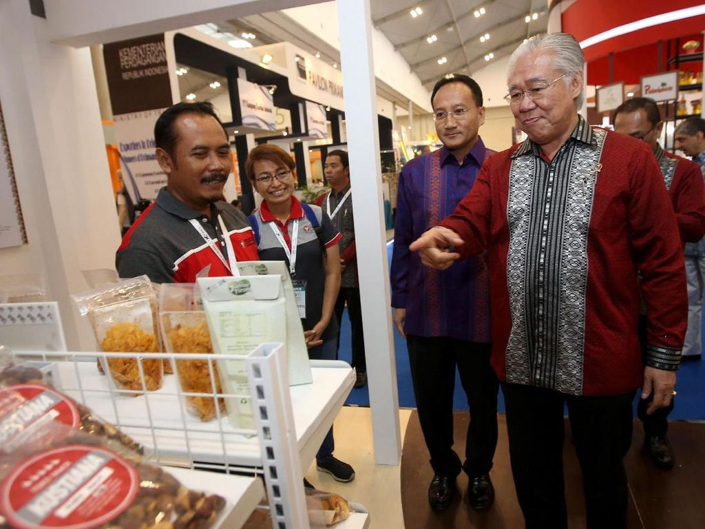 Mendag Tinjau Trade Expo Indonesia