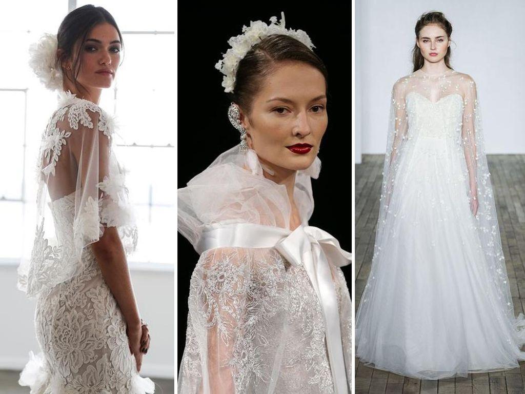 Tren Gaun Pernikahan dari Runway Dunia, Untuk Calon Pengantin 2018