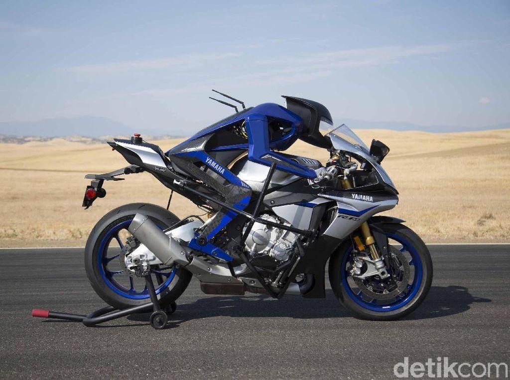 Yamaha Sempurnakan Motor Robotnya
