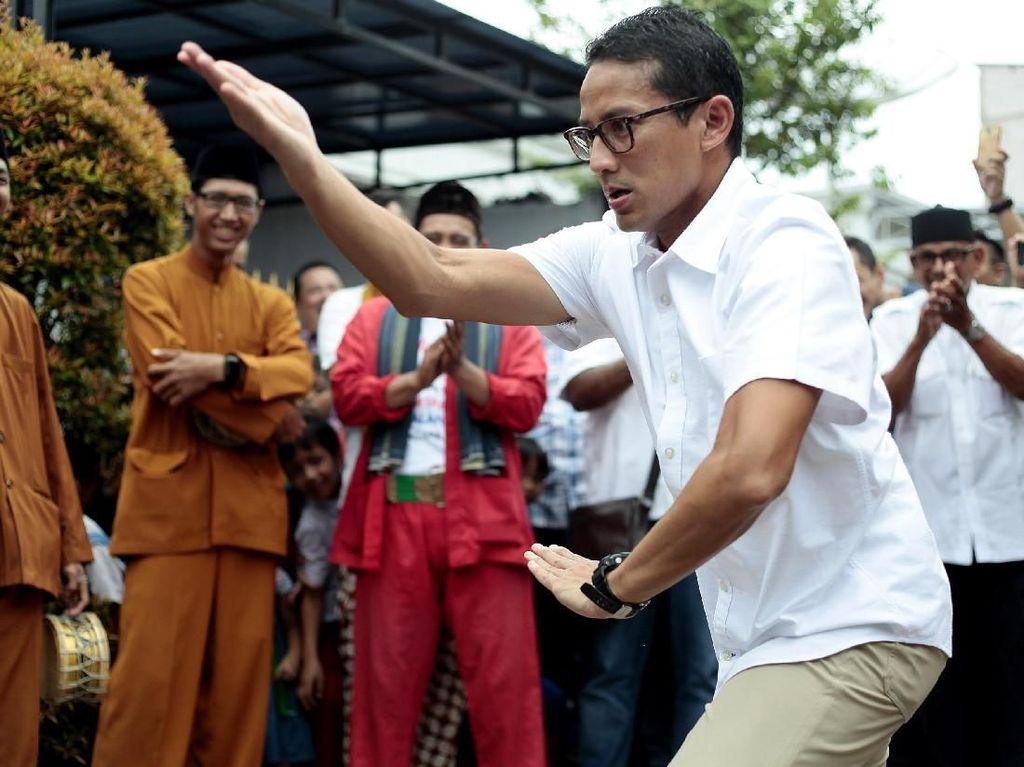 Elektabilitas Diklaim Tipis, TKN Jokowi: Sandiaga Kebanyakan Sandiwara