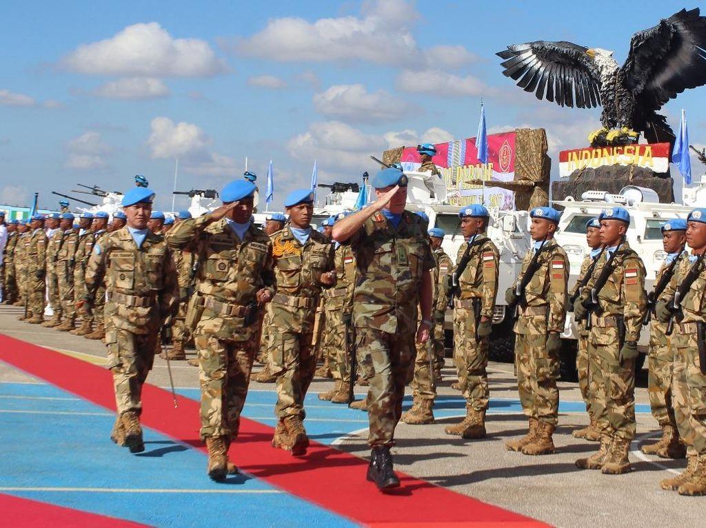 Pasukan Garuda Selamatkan Perempuan WN AS yang Disandera Bandit di Kongo