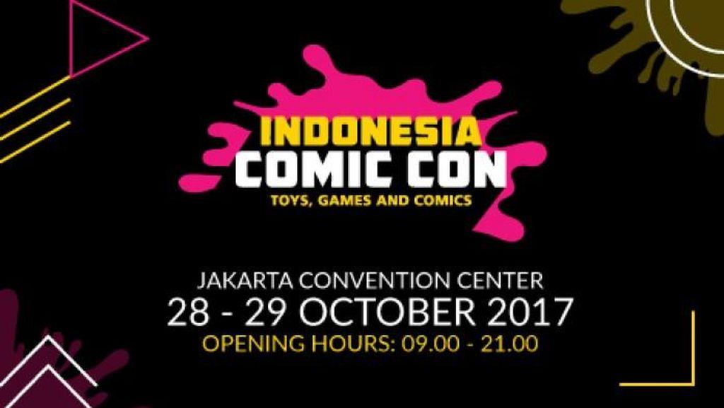 Indonesia Comic Con 2017 Hadir Lagi 28-29 Oktober