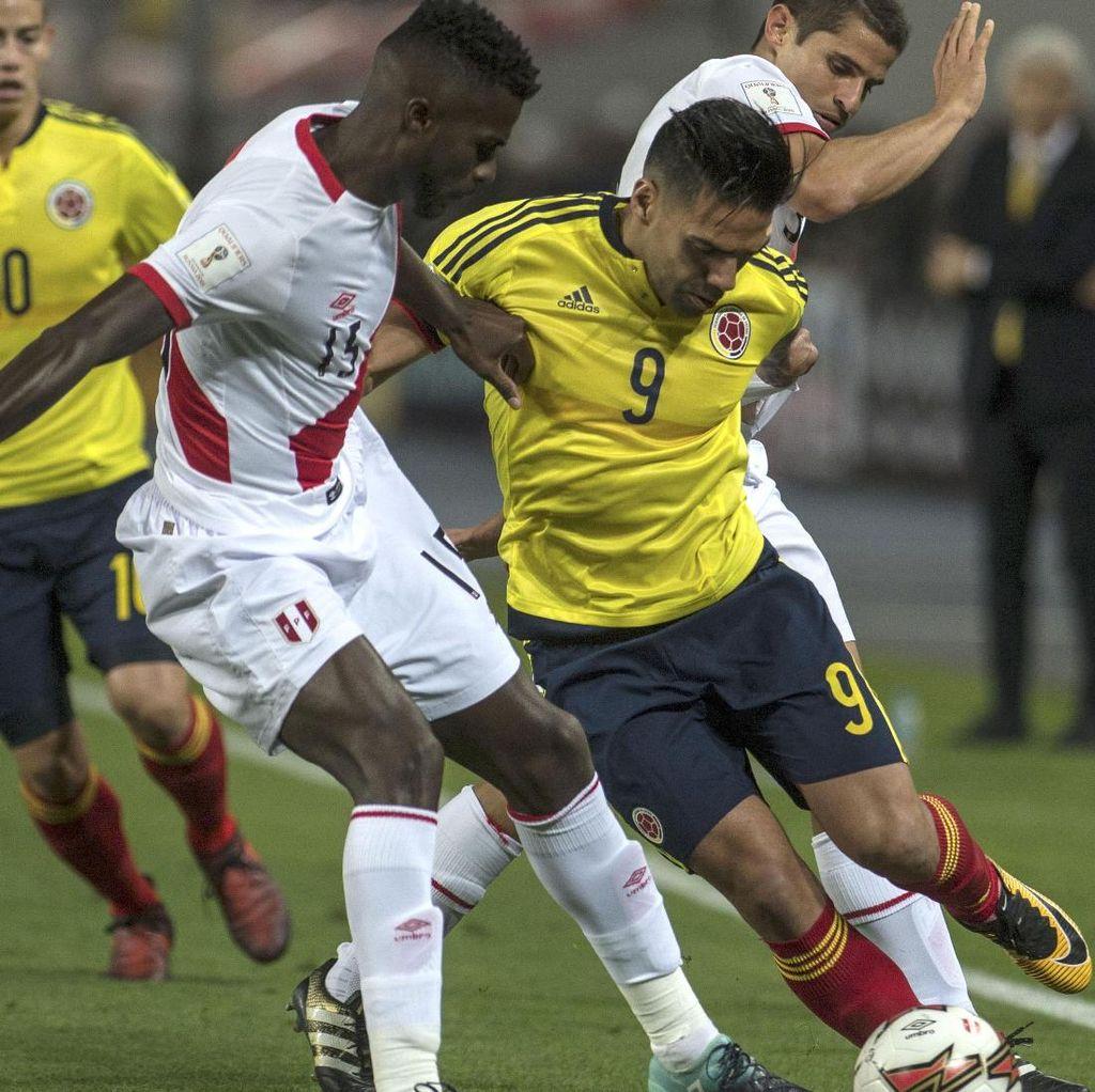 Bujukan Falcao ke Pemain Peru Supaya Sama-sama Lolos ke Piala Dunia