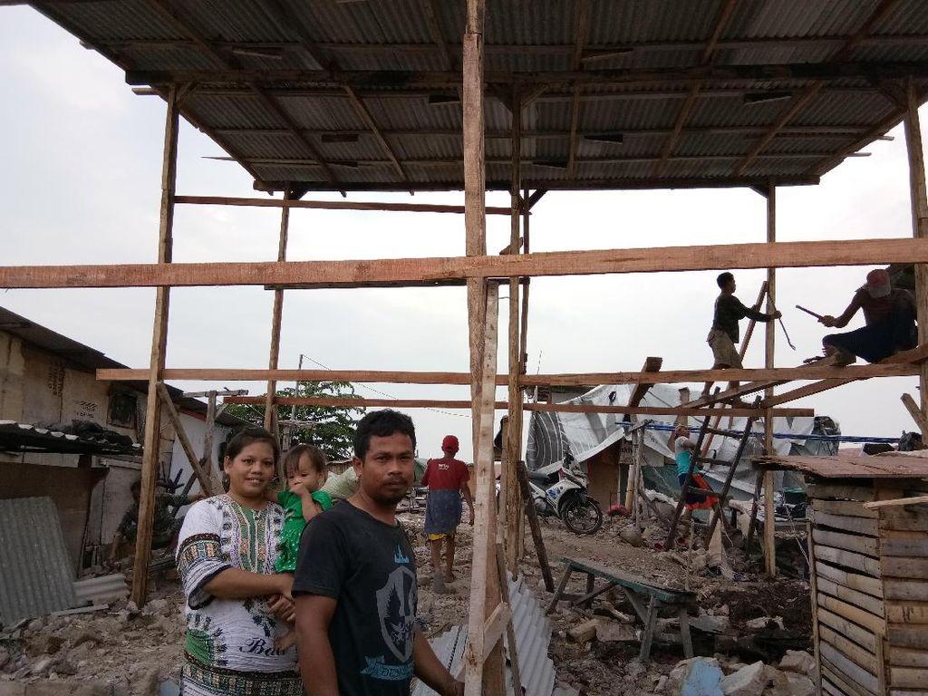 Menagih Janji Anies-Sandi, Warga Kembali ke Kampung Akuarium