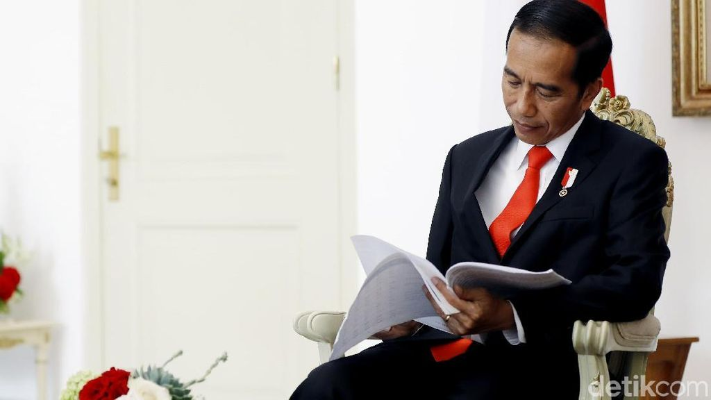 Jokowi Restui Pembentukan Holding BUMN Migas