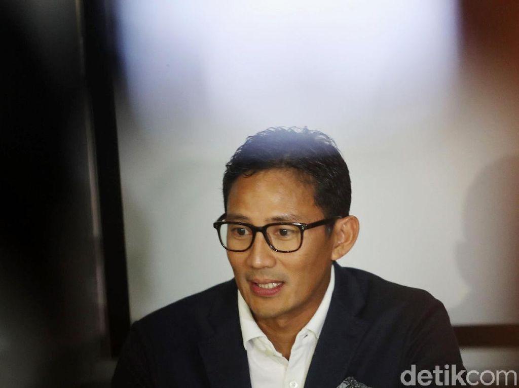 Sandi: Saya yang Minta Bertemu Pak Luhut atas Saran Pak Prabowo