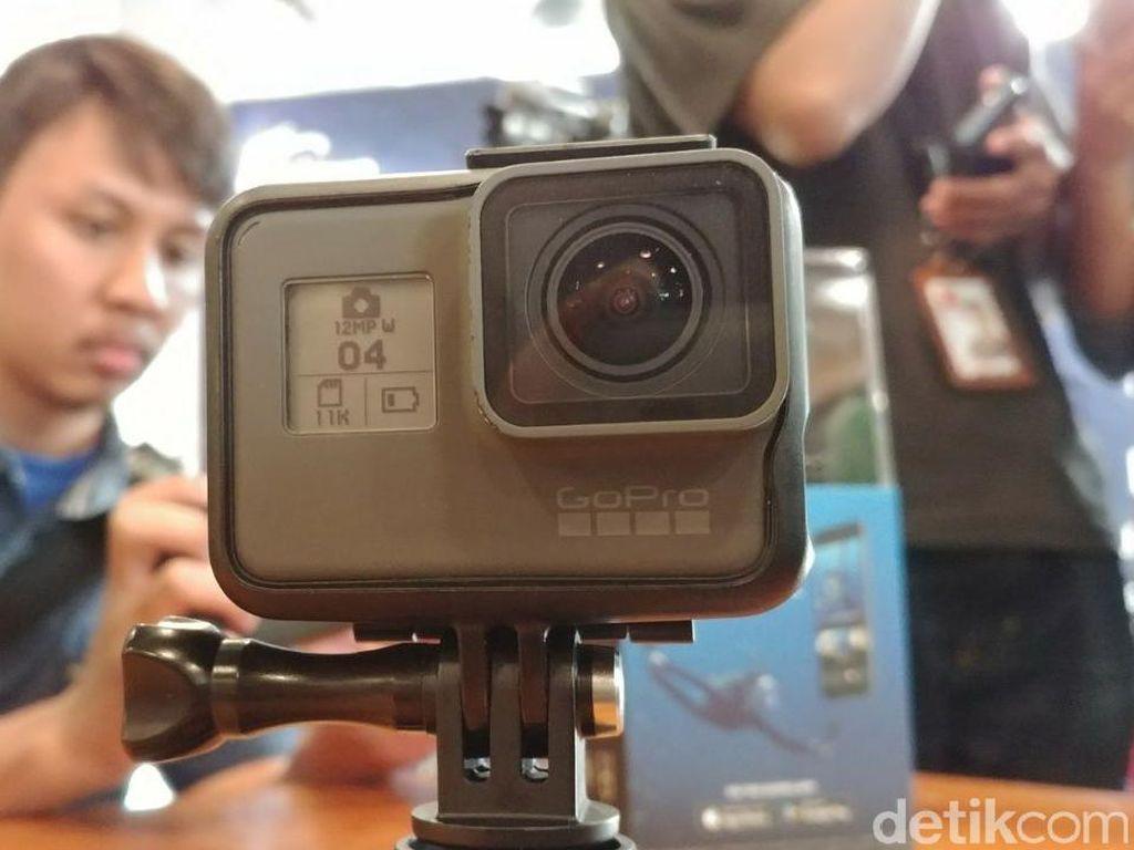 Inilah GoPro Hero6, Kamera Aksi Rp 7,5 Juta