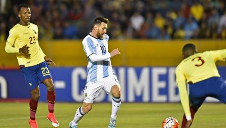 Kelolosan Argentina Dicurigai, Penampilan Pemain Ekuador Ini Dipertanyakan