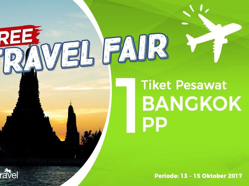Pemenang Free Travel Fair Periode 13-15 Oktober 2017
