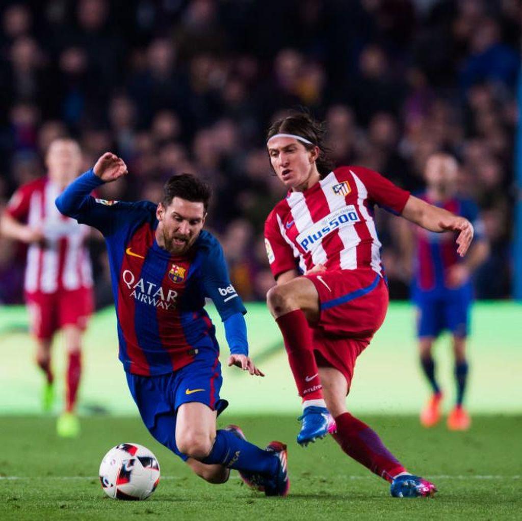 Demi Hentikan Messi, Filipe Luis Siap Jadi Tukang Jagal