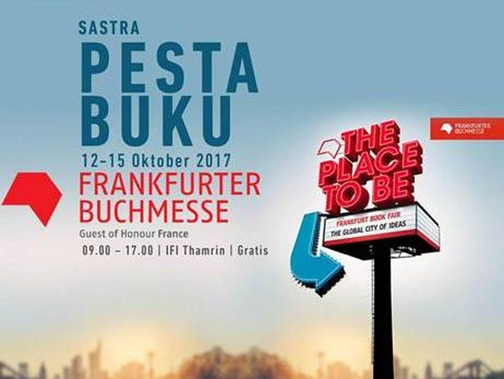 Ramaikan FBF 2017, IFI Jakarta Gelar Pesta Buku
