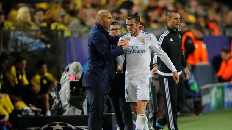 Zidane Tak Pernah Berpikir Menjual Bale Si Kaki Kaca