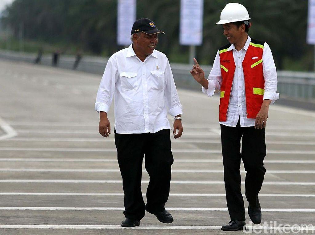 Cerita Basuki Hampir 5 Tahun Jadi Jenderal Infrastruktur Jokowi