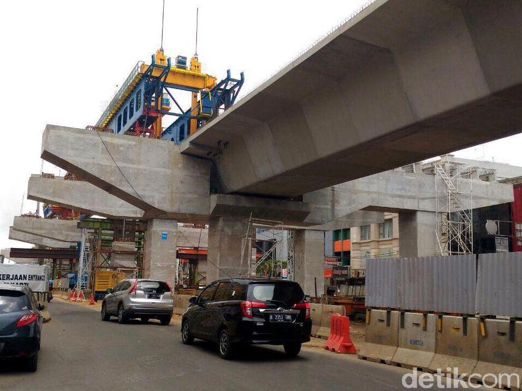 Jakpro: LRT Jakarta Bisa Selesai Lebih Awal