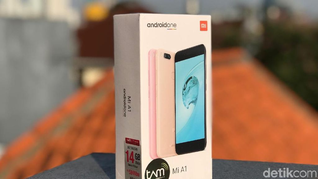 Unboxing Mi A1, Android One ala Xiaomi