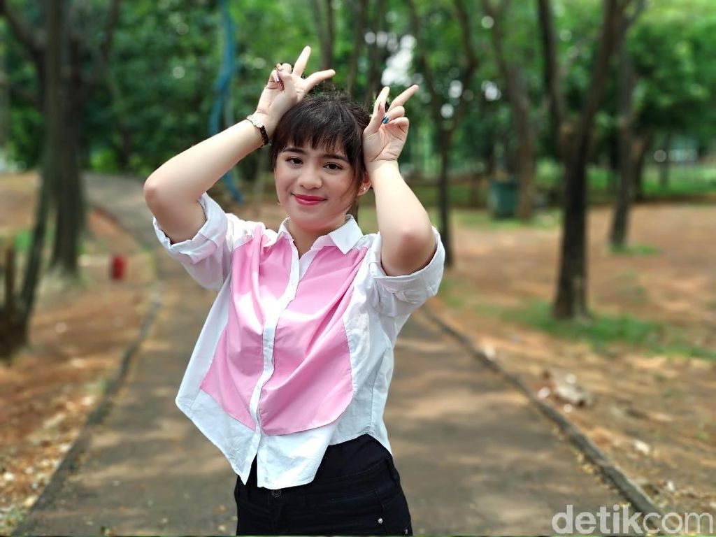 Menjajal Mi A1 bareng Vanka JKT48