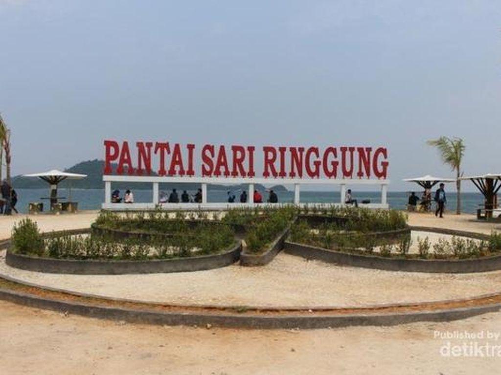 Pantai Lampung Ini Bikin Ogah Pulang, Sari Ringgung