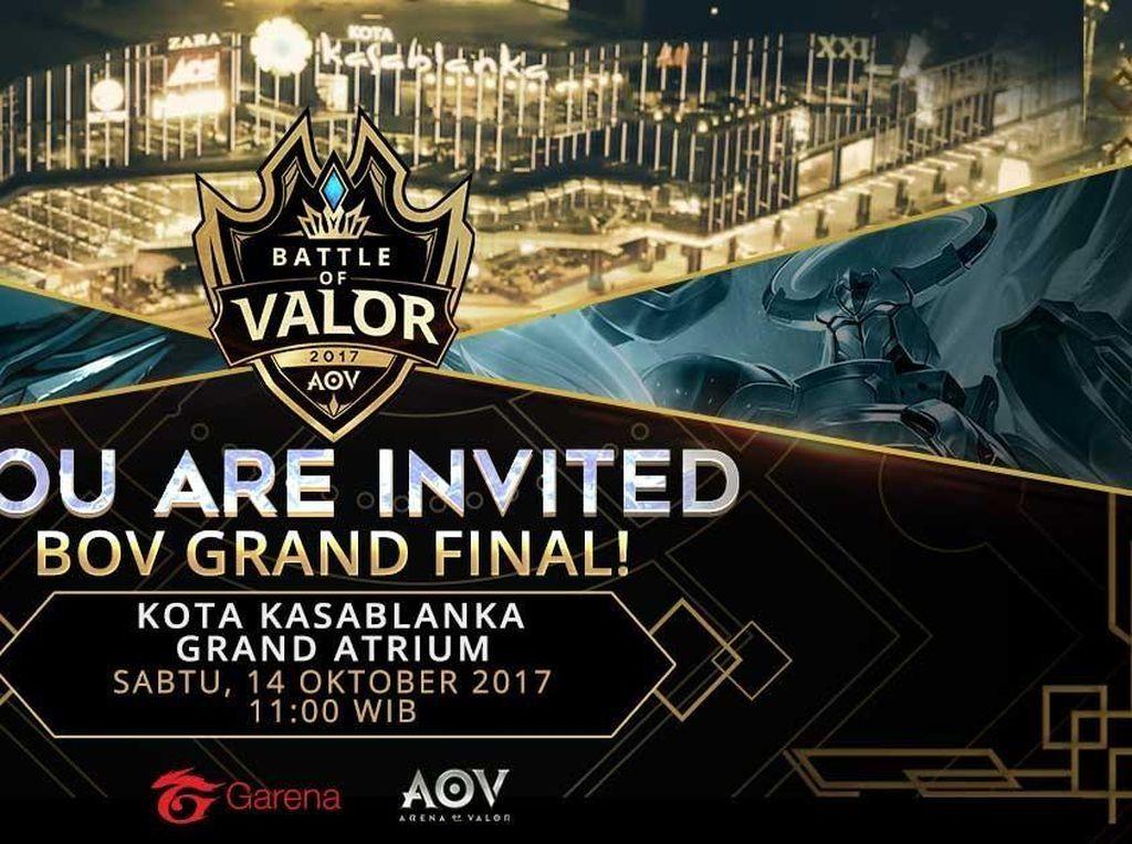 Grand Final Battle of Valor Siapkan Kejutan