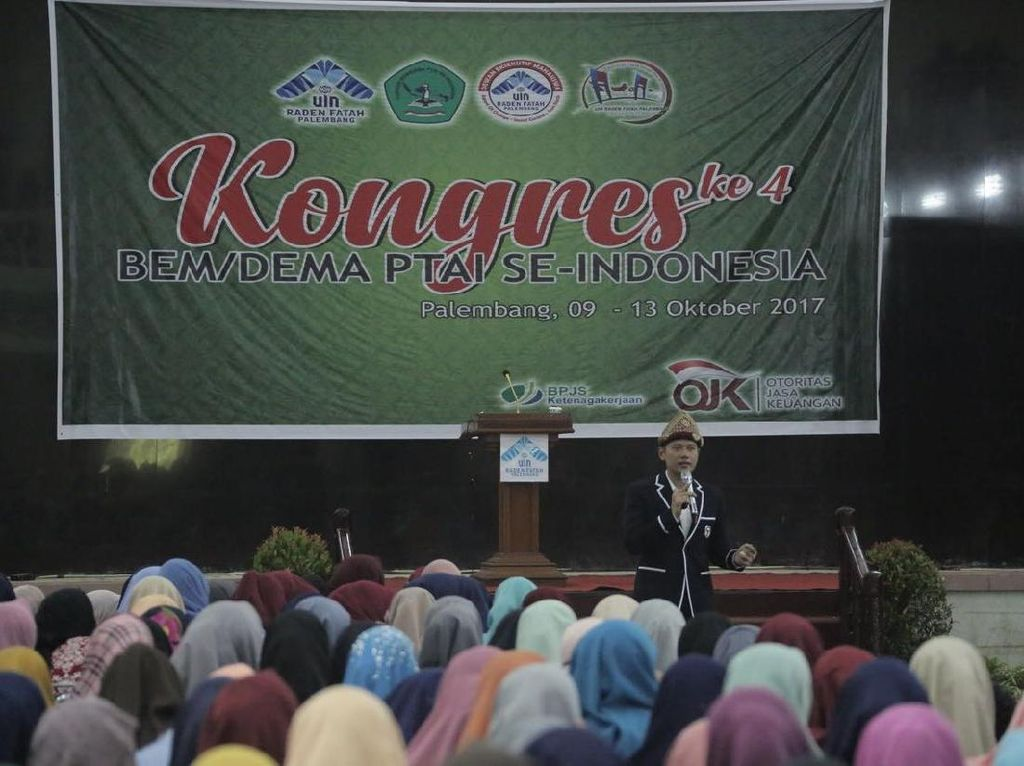 Gerilya ke Palembang, AHY Bicara Pesan Bung Karno