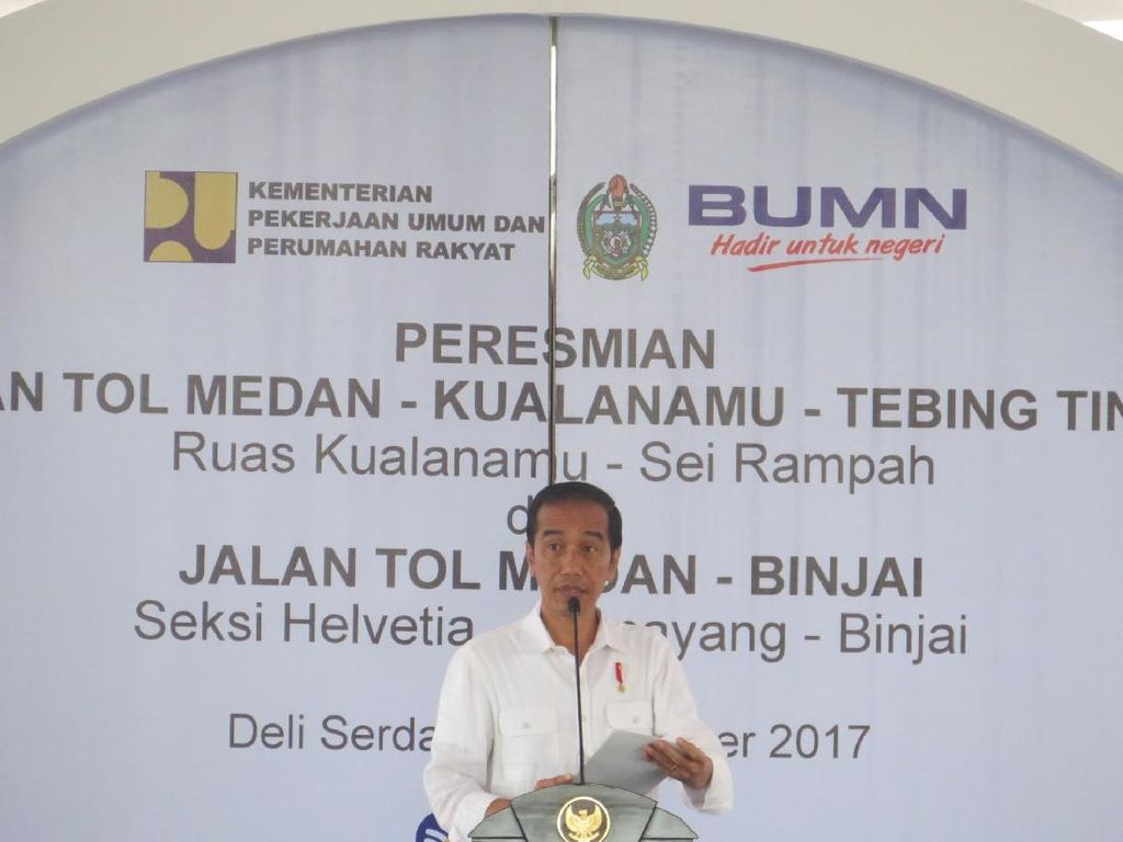 Cerita Jokowi: Kita Sudah Ketinggalan Jauh Soal Infrastruktur