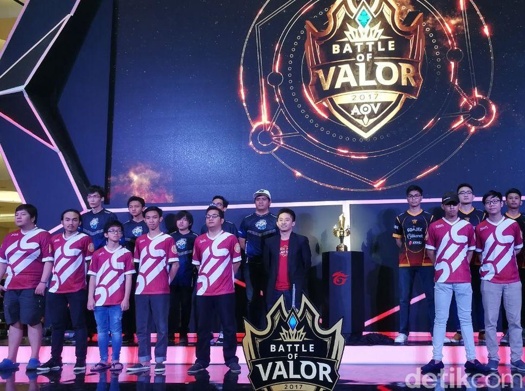 Grand Final Battle of Valor Diserbu 1.000 Pengunjung