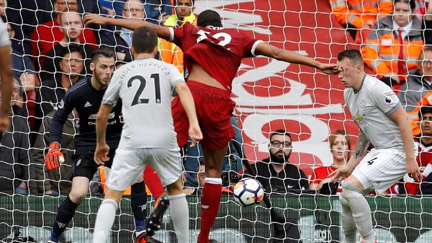 Liverpool vs MU Tuntas Tanpa Gol