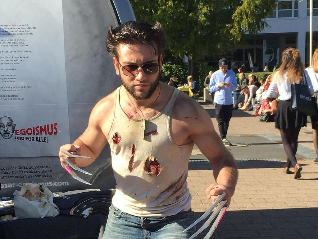 Wolverine sampai Princess Elsa Serbu Frankfurt Book Fair 2017