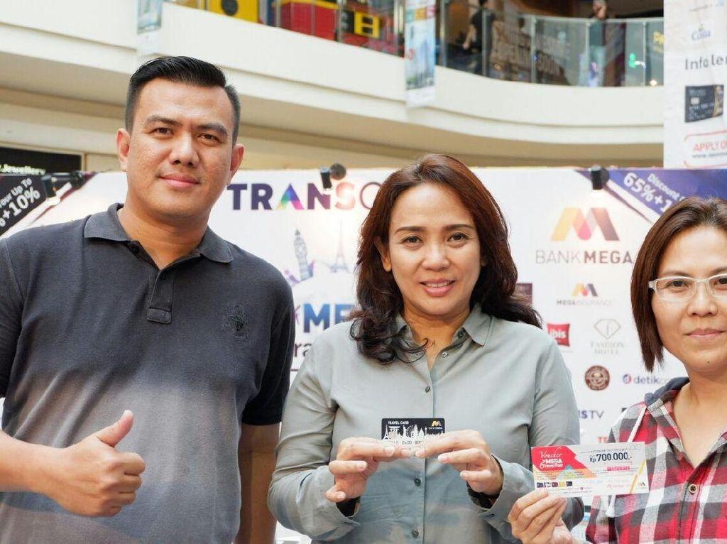 Senang, Kesan Istri Walkot Semarang Datang ke Mega Travel Fair