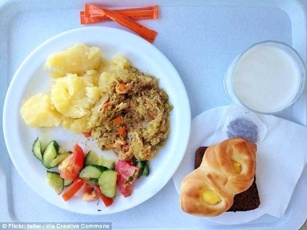 Begini Nih Tampilan Menu Makanan Rumah Sakit di Australia hingga Jerman