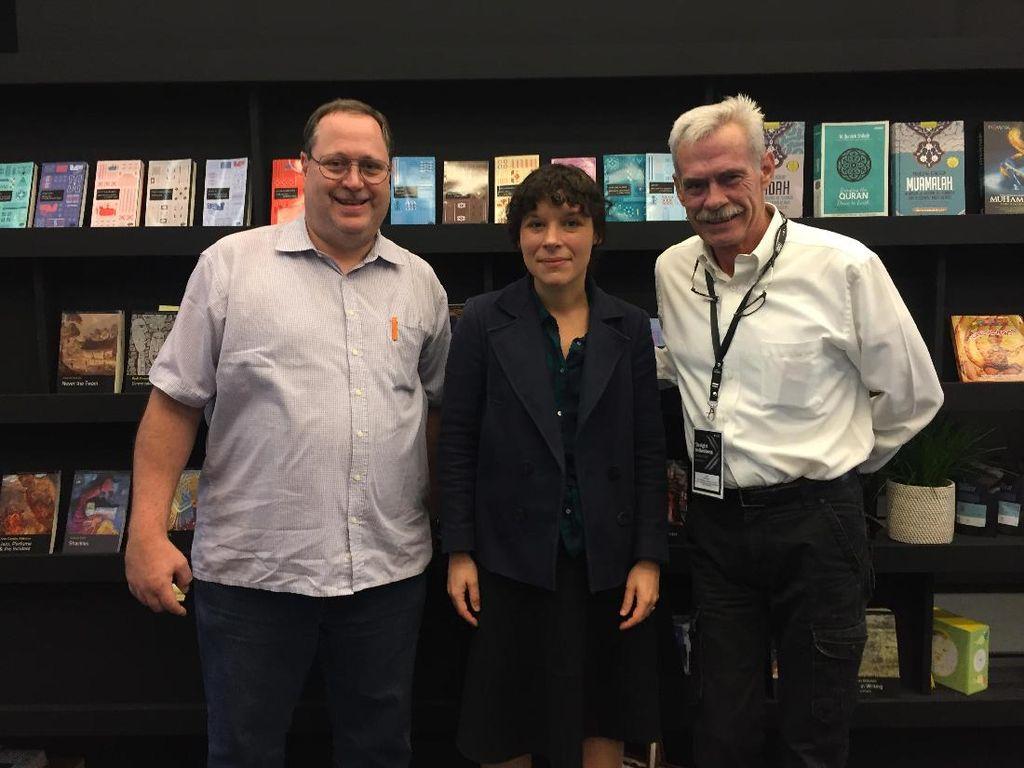 Peminat Sastra Indonesia di Goethe UniversityNaik, Lebih Banyak dari Sastra China