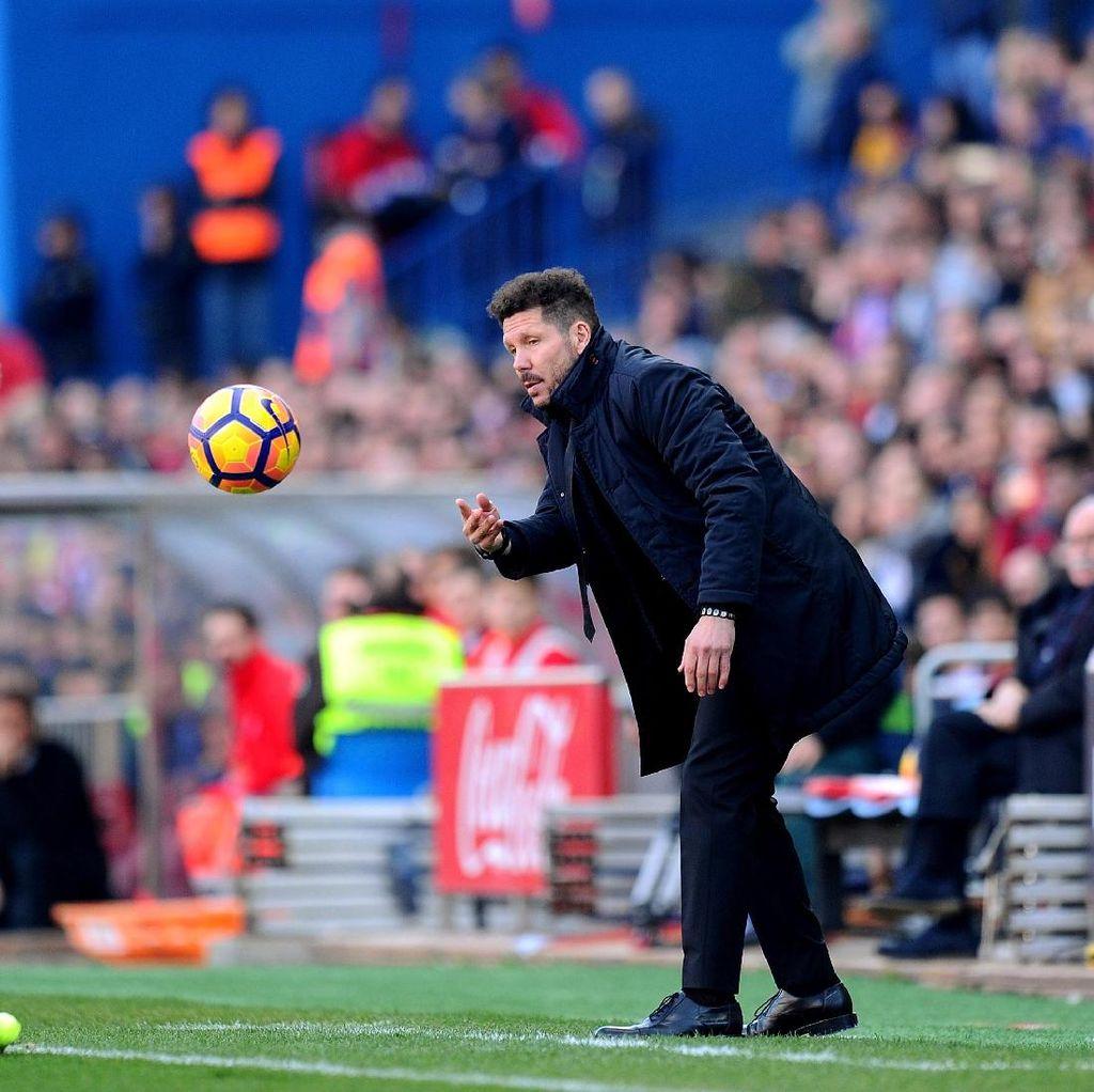 Simeone: Barcelona Bagus, tapi Real Madrid Lebih Baik