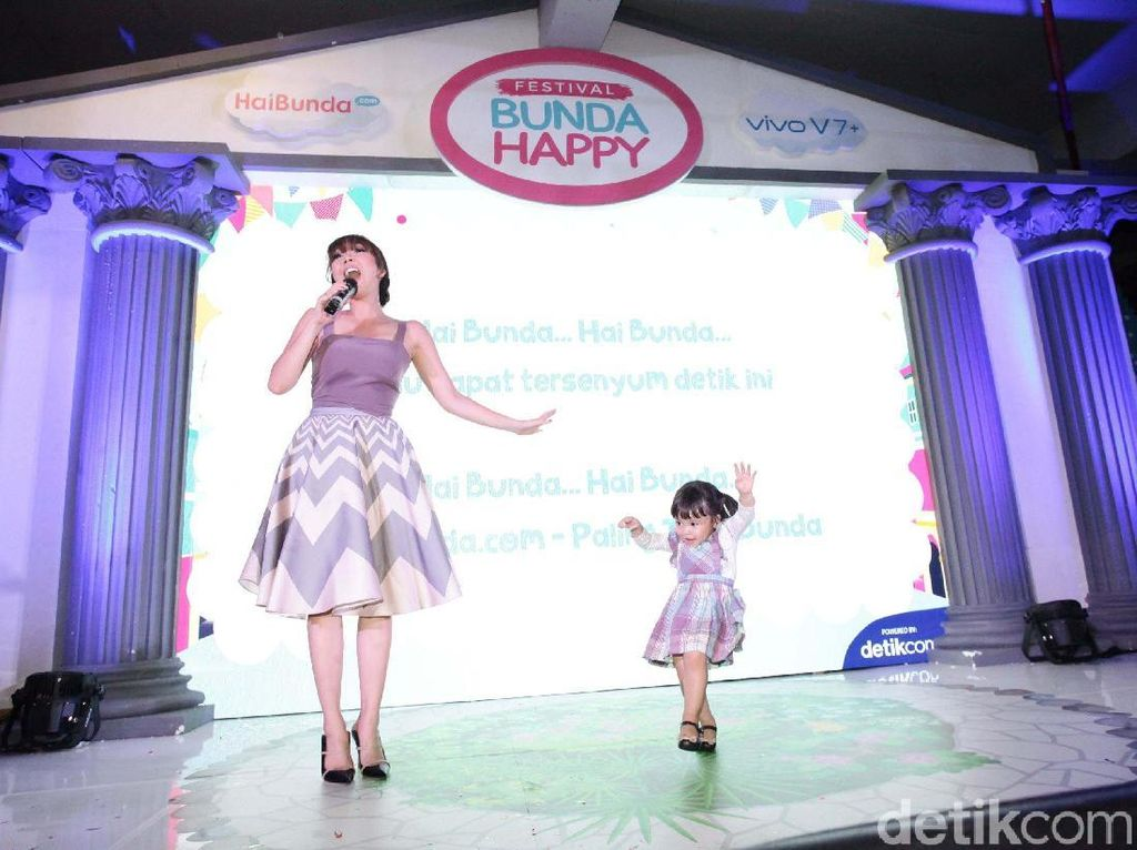 Video: Begini Kemeriahan Launching Jingle Hai Bunda