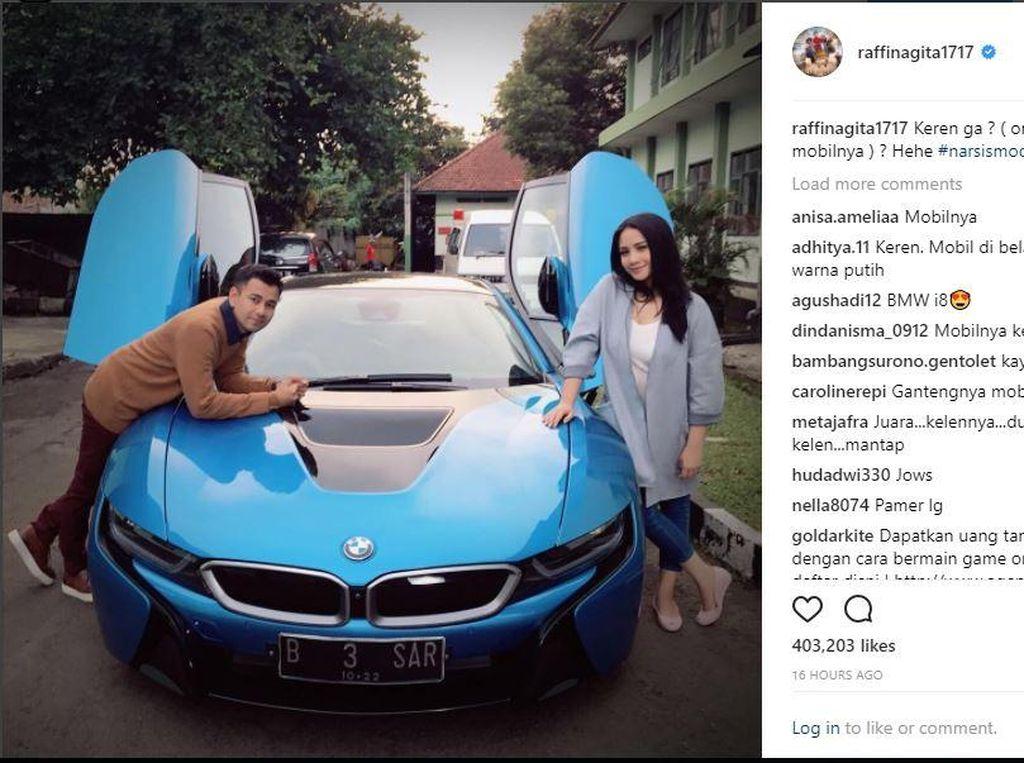 Pelat Nomor BMW i8 Raffi Ahmad, Terdaftar untuk Mobil Bentley