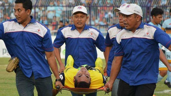 Choirul Huda, kiper Persela (dok: Media Officer Semen Padang)
