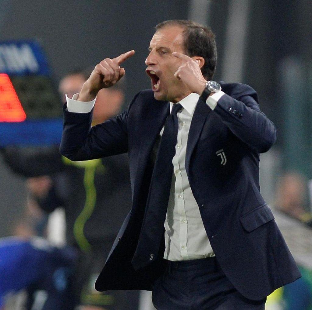 Allegri: Kalau Begini Terus, Juventus Takkan Juara