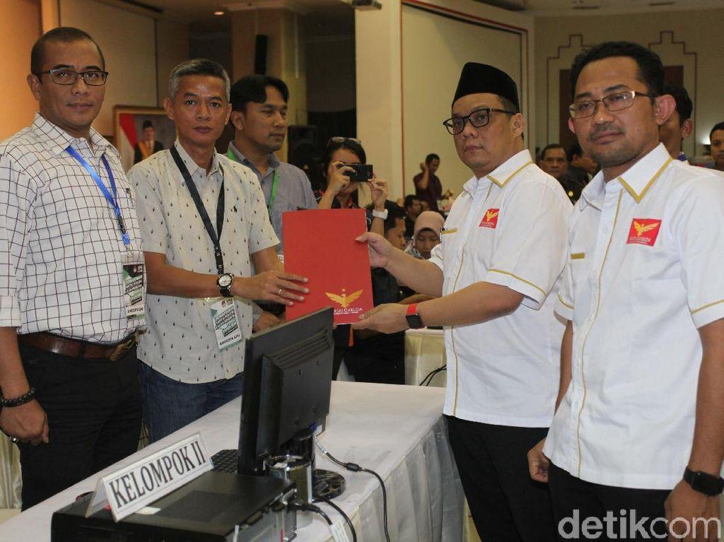 Partai Garuda Resmi Daftar ke KPU