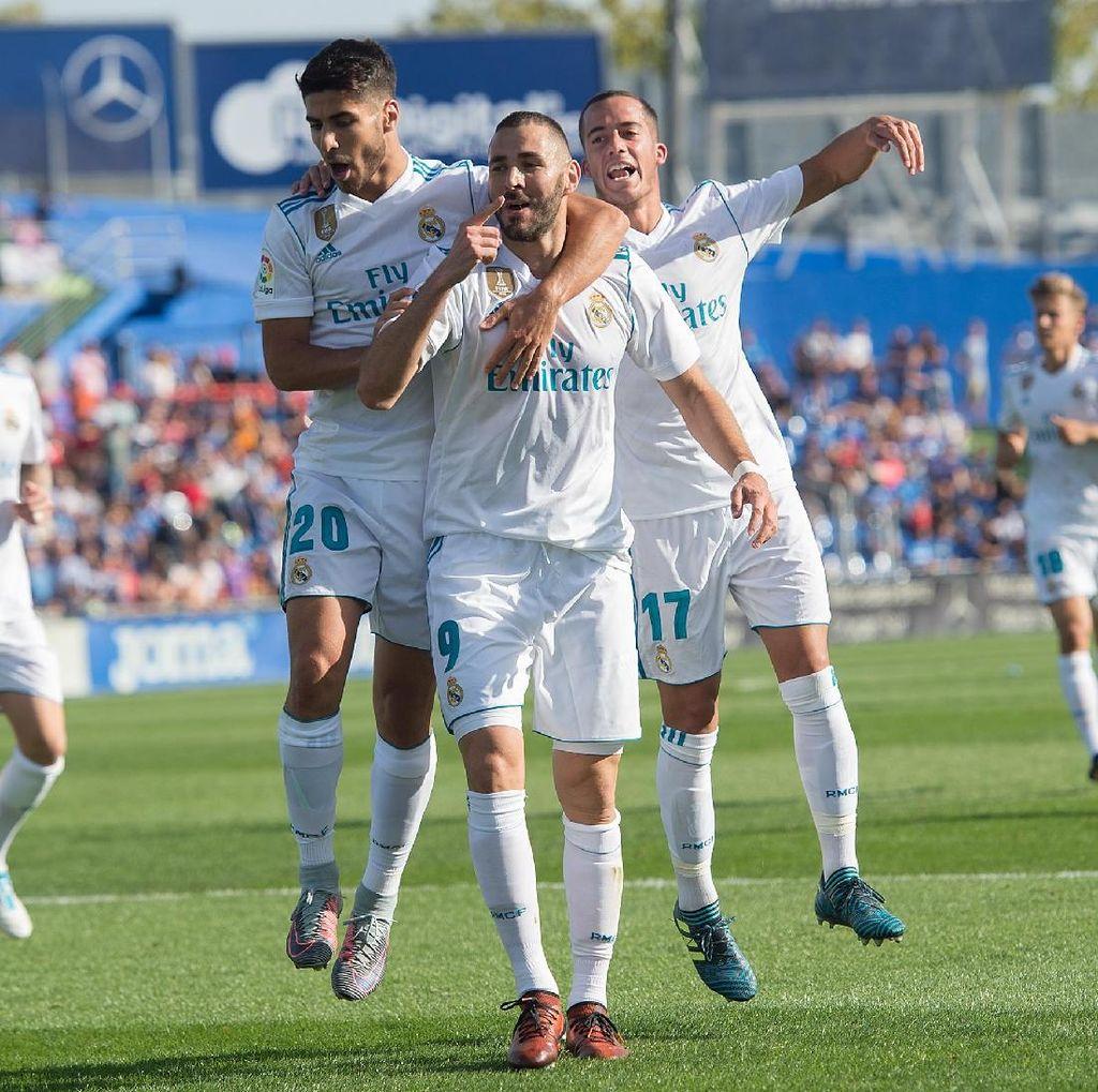 Madrid Patahkan Rekor Milik Barca lewat Kemenangan di Markas Getafe