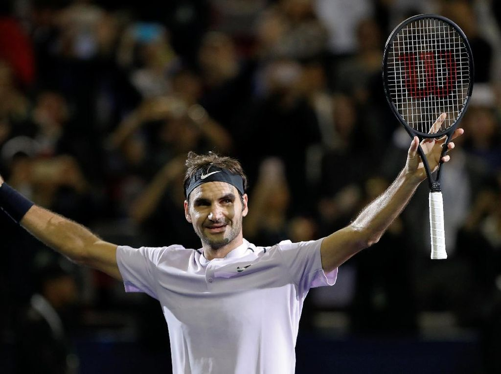 Basel Tumbangkan MU, Federer Ikut Bersuka Cita