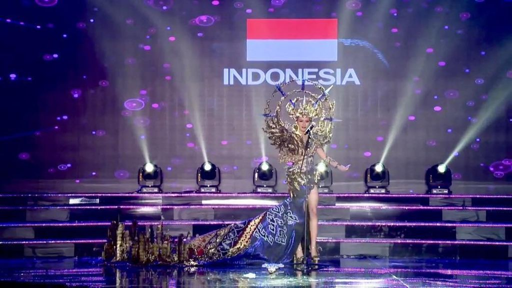 Gagal Juara, Ini Deretan Prestasi Dea Rizkita di Miss Grand International