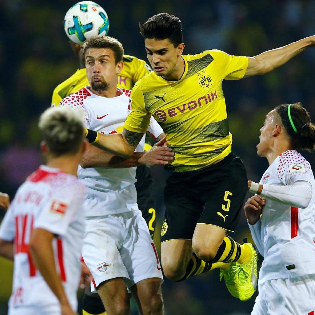Leipzig Beri Dortmund Kekalahan Perdana