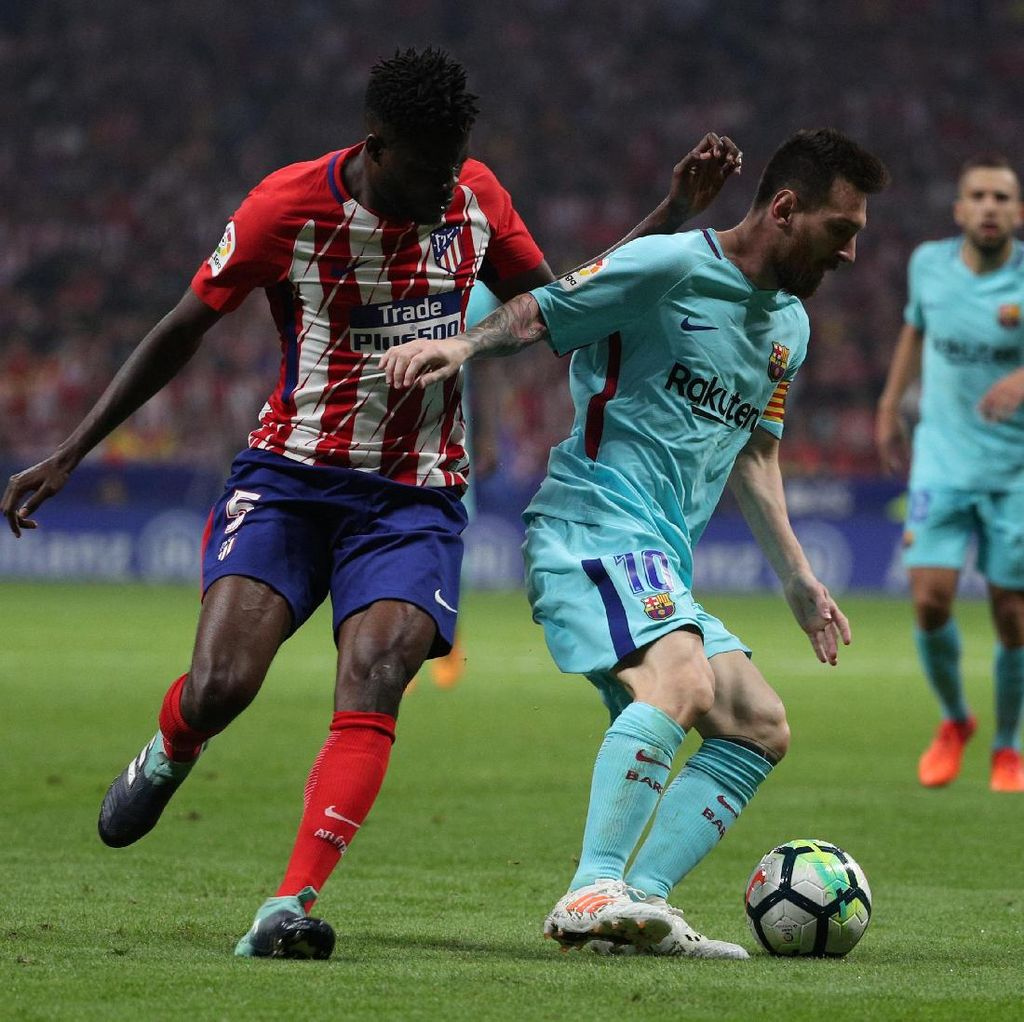 Sanjungan Simeone untuk Messi