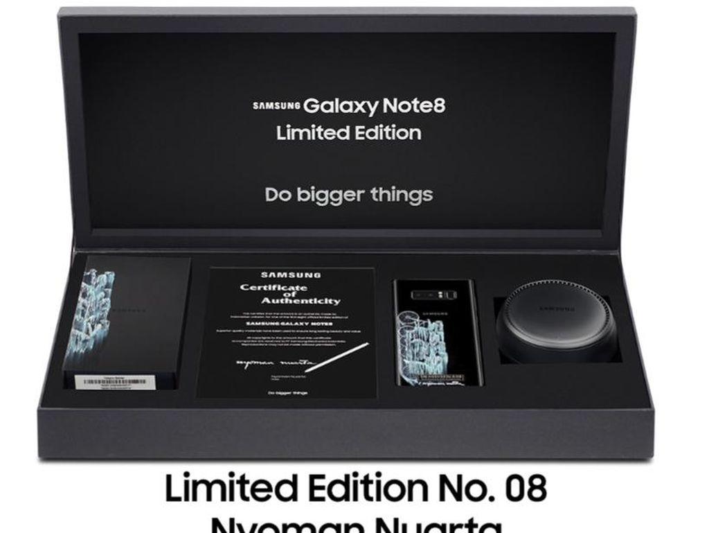 Galaxy Note 8 Edisi Terbatas Siap Dilelang, Seperti Apa?