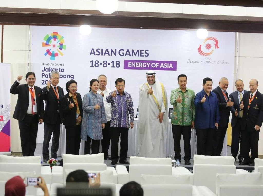 Presiden OCA Apresiasi Persiapan Asian Games 2018