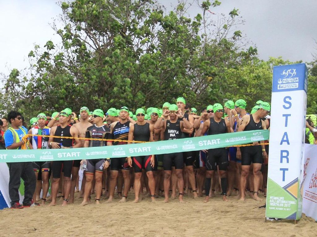 2000 Peserta Ikuti Bali International Triathlon 2017